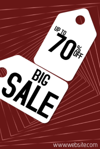 Big sale discount template