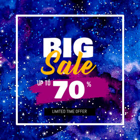 Big Sale Discount Instagram Post