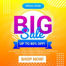Big Sale Flyer Instagram Post