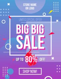 Big Sale Gradient Flyer