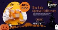 Big Sale Halloween รูปภาพที่แบ่งปันบน Facebook template