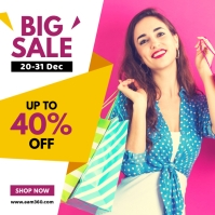 Big Sale Instagram Post Instagram-bericht template