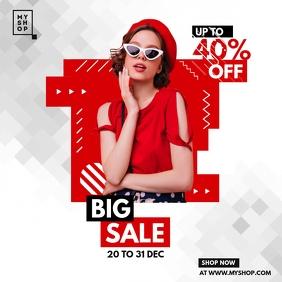 Big Sale Instagram Post