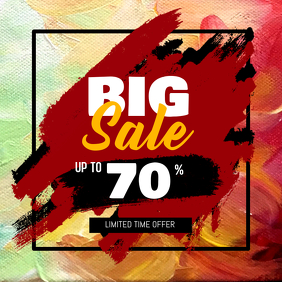Big Sale Instagram Post