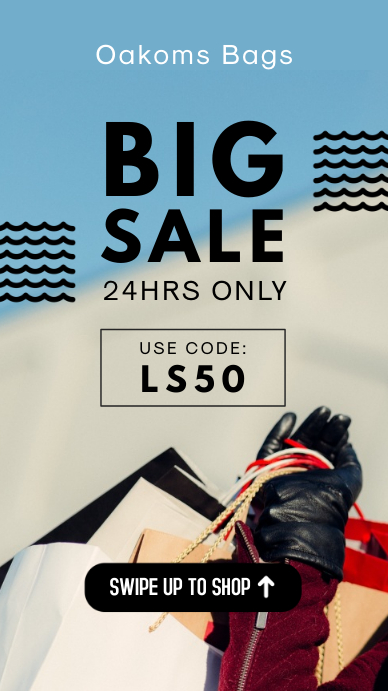 Big Sale Instagram Story Ad