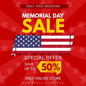 Big Sale Memorial Day Video Ad