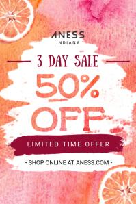 Big Sale Pink Poster Design