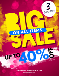 Big Sale Flyer