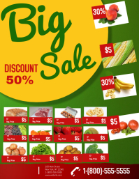 customizable design templates for grocery store sale postermywall