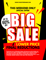 Big Sale Flyer Template