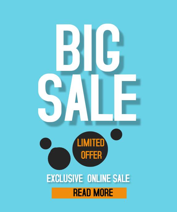 Big Sale Persegi Panjang Besar template