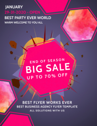 Big Sale Poster Template