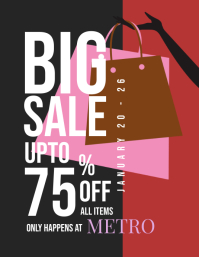 Big Sale Promotion Flyer Template - 01