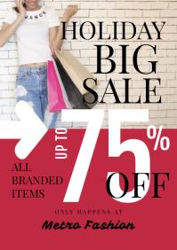 Big Sale Promotion Flyer Template - 02