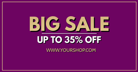 Big Sale sell-out advert promo now shopping banner header