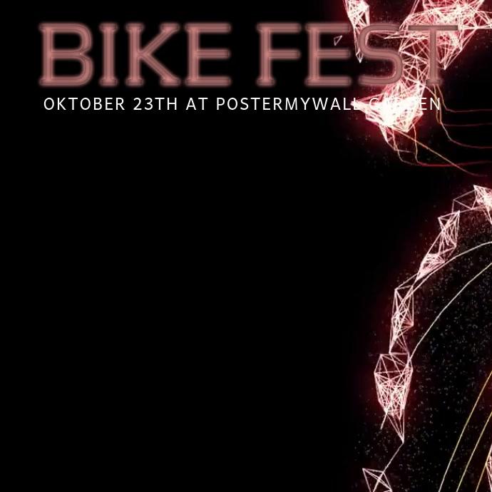 Bike Event Instagram video post template