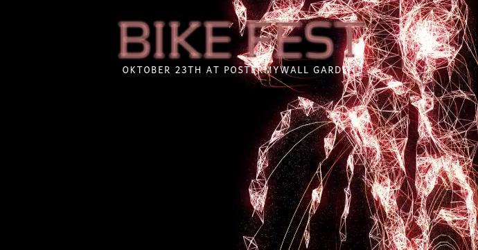 Bike Fest Facebook Post Video Template