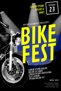 Bike Fest Flyer Template