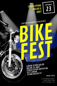 Bike Fest Flyer Template
