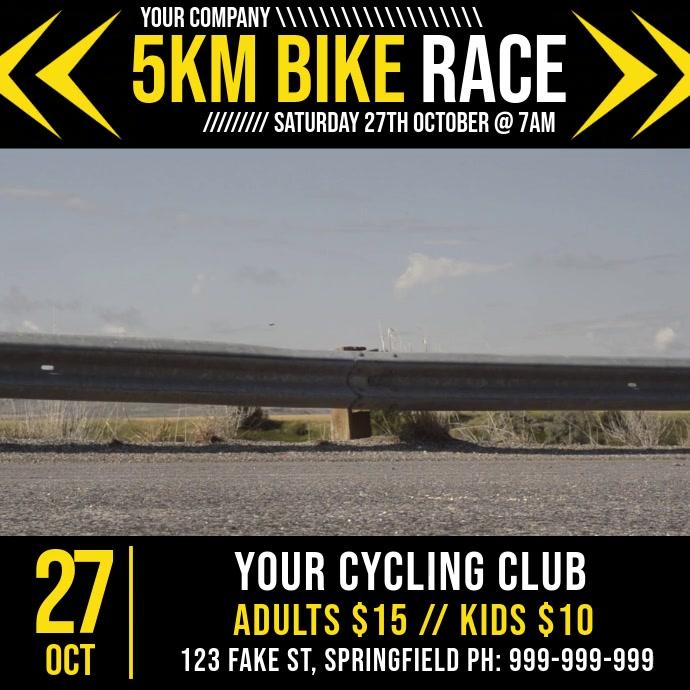 Bike Race Video