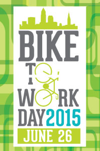 BIKE TO WORK POSTER FLYER