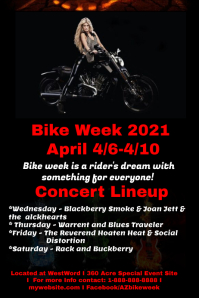 Bike Week template