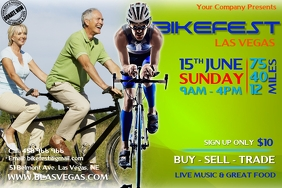 bikefest2 Poster template