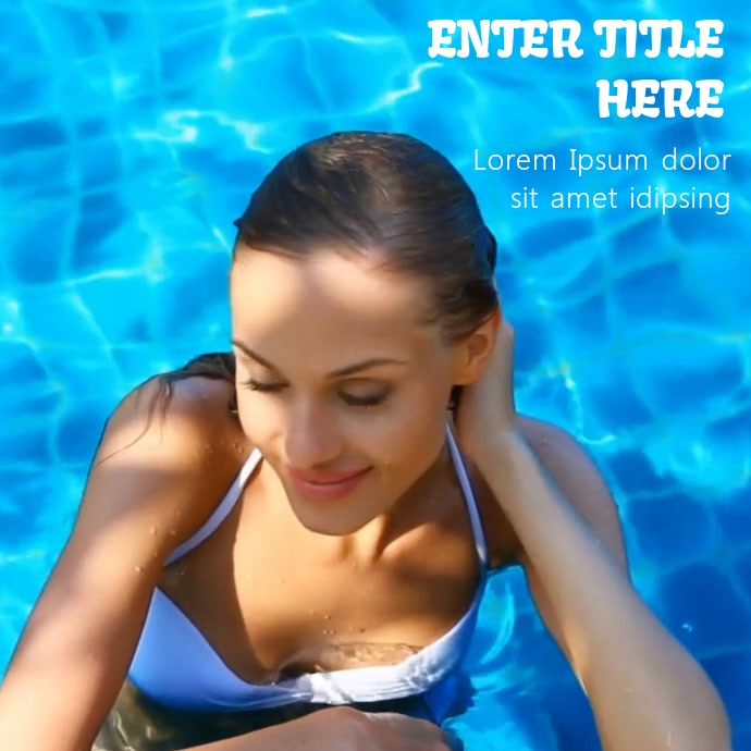 BIKINI MODEL VIDEO TEMPLATE