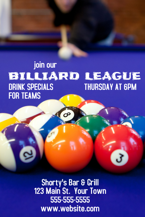Billiard League Bar & Grill