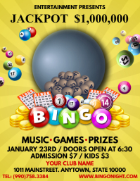 BINGO Flyer (US Letter) template
