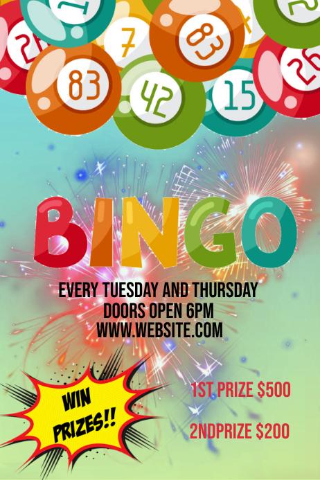 Bingo Plakat template