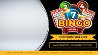 Bingo Facebook Video Event Cover Facebook-Covervideo (16:9) template