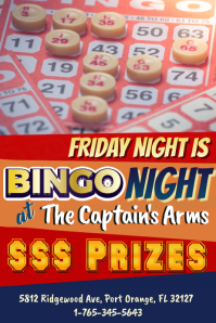 Bingo Flyer Template