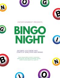 Bingo Flyer Template