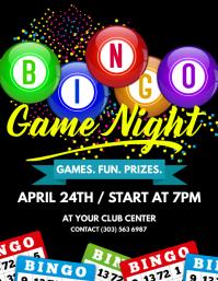 Bingo Game Night Flyer