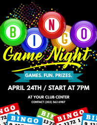Bingo Game Night Flyer