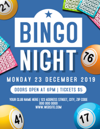 Bingo / Lotto Night Event Flyer Template