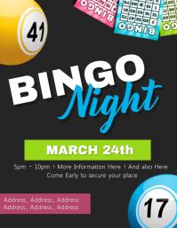 Bingo Night Event Flyer Template