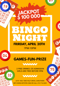Bingo Night Flyer A4 template