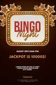 Bingo Night Flyer Design Template