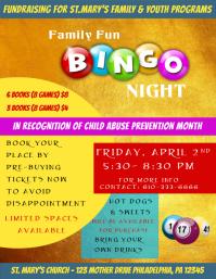 Customizable design templates for bingo night template postermywall bingo night flyer saigontimesfo
