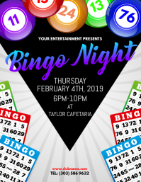 Customizable Design Templates For Bingo Night PosterMyWall