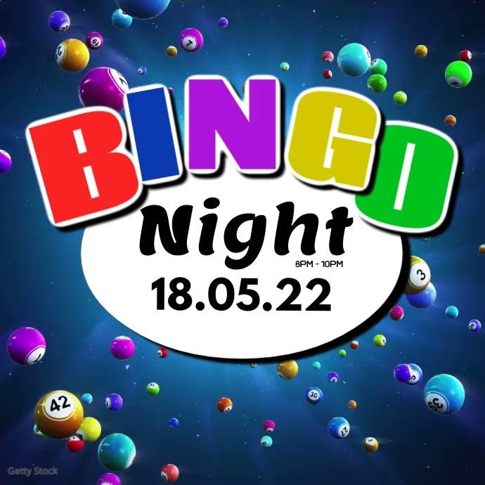 Bingo Night Games Fun Win Prizes Play Video