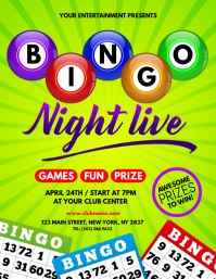 Bingo Night Live Flyer