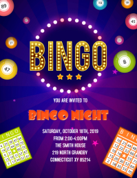 Bingo night party template
