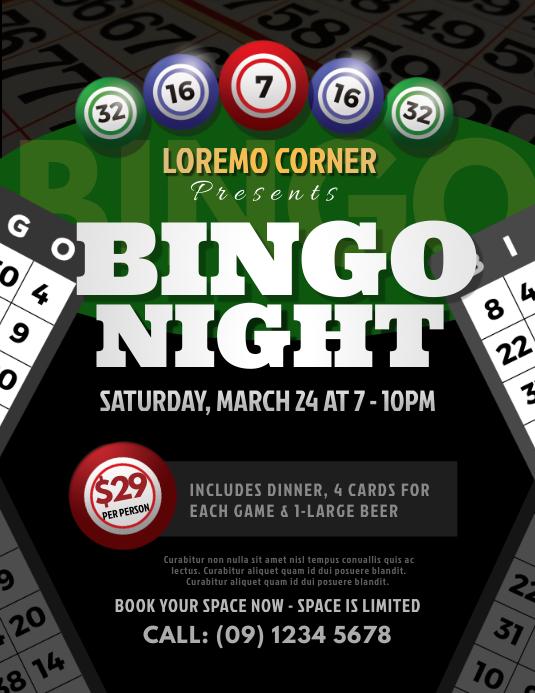 Bingo Night Flyer