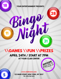 21 280 customizable design templates for bingo event postermywall