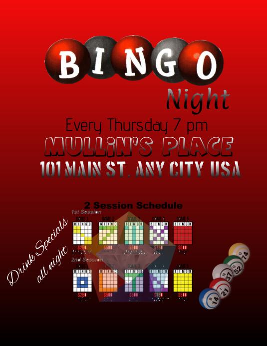 Casino Night Flyer Template Free Shownlosing