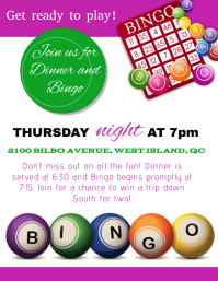17630 customizable design templates for bingo night template postermywall
