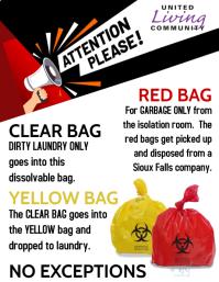 Bio Hazard Flyer (US Letter) template